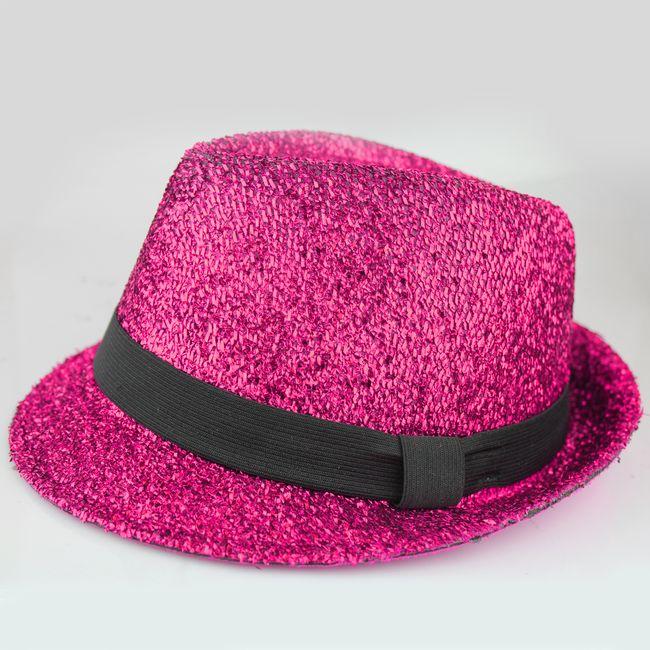 chapeu-lurex-com-fita-25mm-rosa