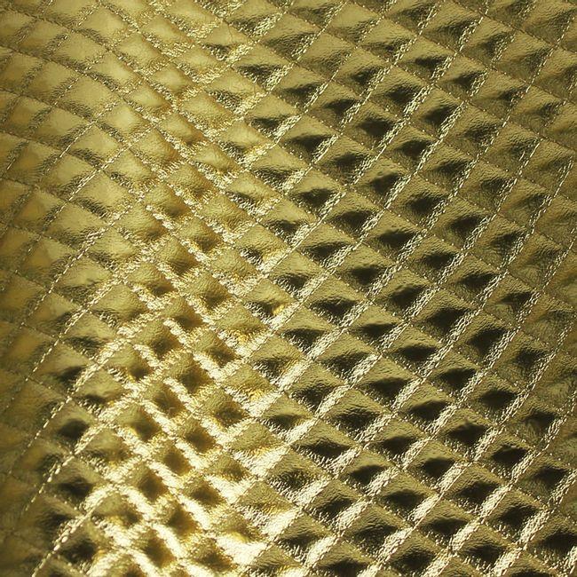 pvc-matelasse-metal-Ouro