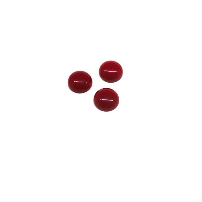 CHATON-14mm-REDONDO-CABUCHAO-500G-160-665-CP067-vermelho